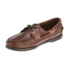 Sebago Mens - Schooner - Brown Oiled Waxy