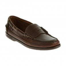 Sebago Mens - Sloop - Brown Waxy - (7002B0-925)