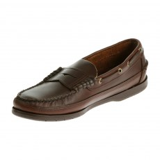 Sebago Mens - Sloop - Brown Waxy