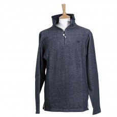 Coastal Blue - Mens Navy Marl Sutton Sweatshirt