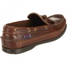 Sebago Mens - Ketch - Brown Oiled Waxy
