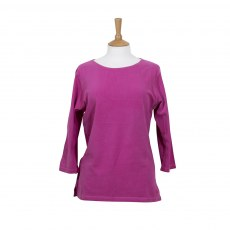 Coastal Blue - Wave T-Shirt - Cerise