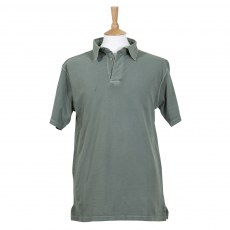 Coastal Blue - Antique Pique Polo - Green