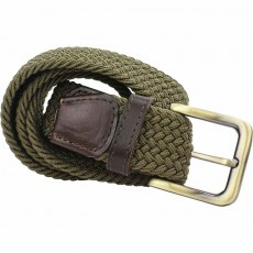 Stretch Belt - Green/Khaki