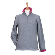 Coastal Blue - Seaspray II Sweatshirt - Grey/Cerise
