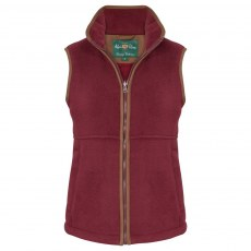 Alan Paine - Ladies Aylsham Fleece - Bordeaux