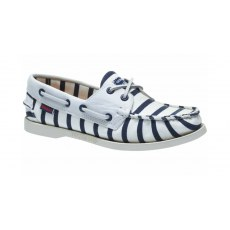 Sebago Ladies  -  Armolux Spinnaker - White/Navy