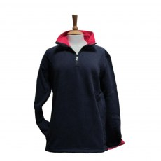 Coastal Blue - Seaspray II Sweatshirt - Navy/Cerise