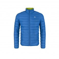 Mens - Reversible Down Jacket - Electric Blue/Lime Punch