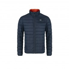 Mens - Reversible Down Jacket - Navy/Flame Orange