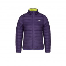 Ladies - Reversible Down Jacket - Grape/Lime