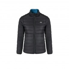 Ladies - Reversible Down Jacket - Jet Black/Teal