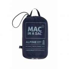 Ladies  Mac In A Sac Alpine Gilet - Navy
