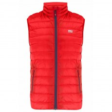 Mac in a Sac Alpine Mens Down Gilet - Red