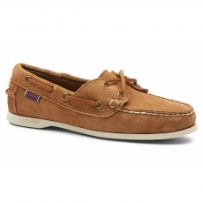 Sebago Ladies - Jaqueline Suede - (7002TA0 - 907) Brown Cognac