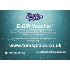 Tom's Place Gift Voucher