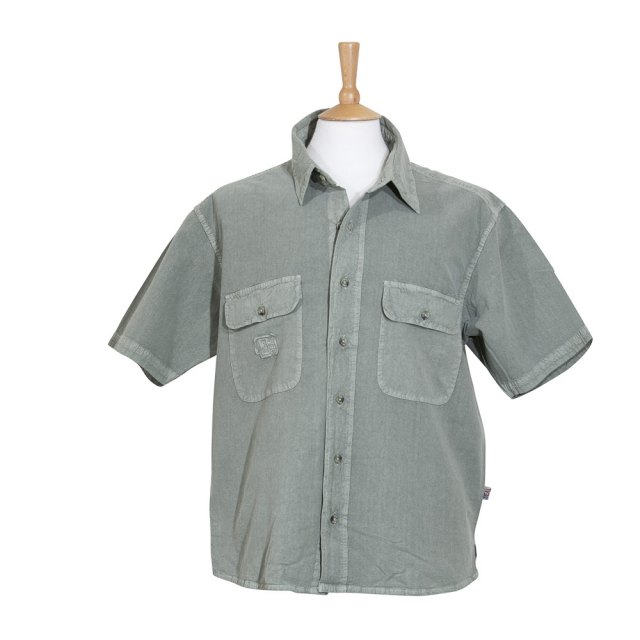 Deal Clothing-Short Sleeve Classic Shirt- Moss