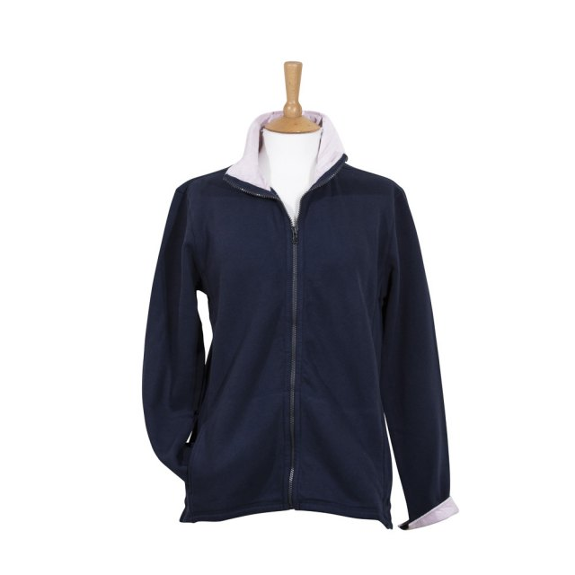 Coastal Blue-Boardwalk Full Zip Sweatshirt - Navy