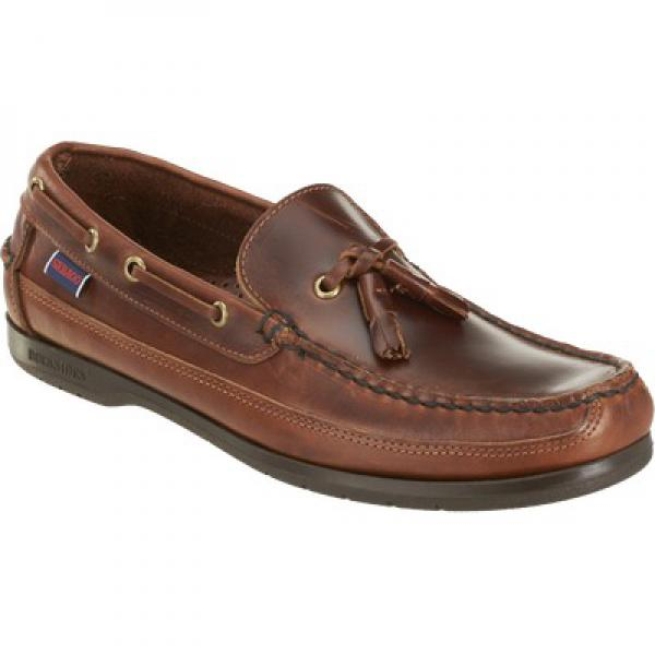 759450-Mens Sebago-Ketch -Brown Oiled Waxy-Side