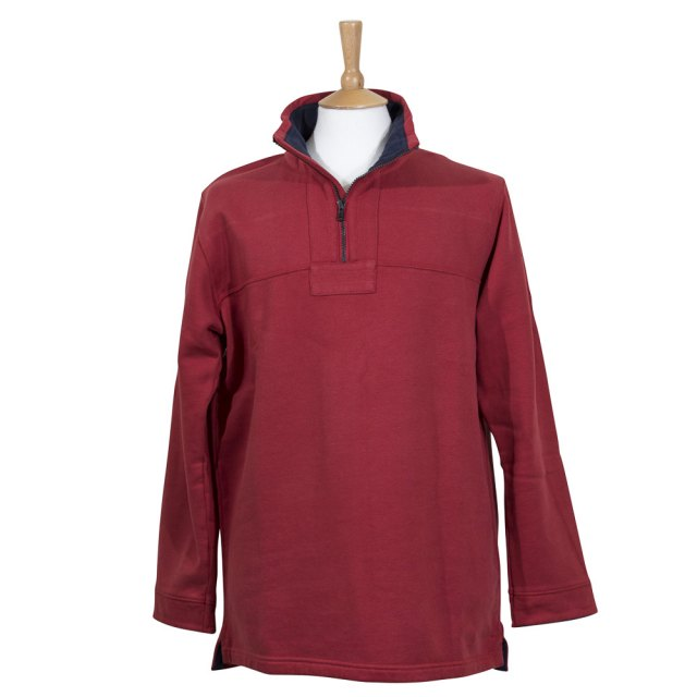 Mens Explorer Sweatshirt - Red