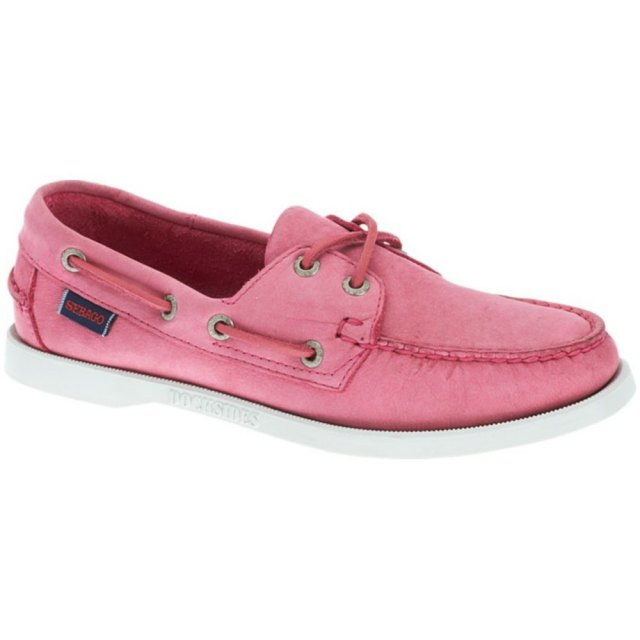 Sebago Ladies - Offers Sebago Ladies - Docksides - Light Pink Nubuck