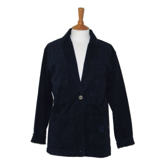 AS53-Deal Clothing-Ladies Cotton Jacket-Navy