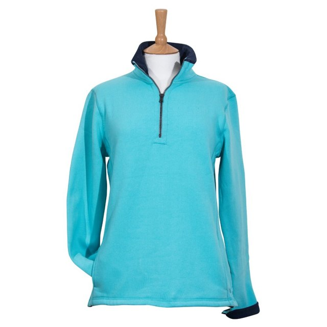 Coastal Blue Clothing Coastal Blue - Seaspray II Sweatshirt - Aqua/Navy