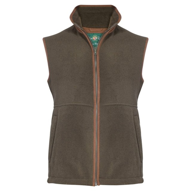 Alan Paine - Fleece Gilet - Green