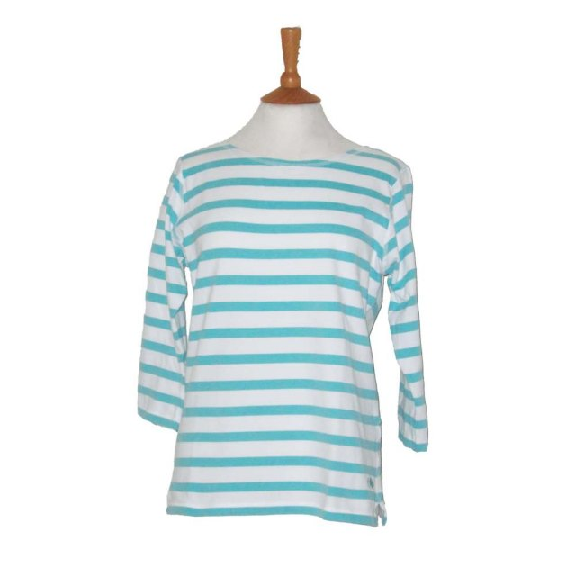 Coastal Blue Clothing Coastal Blue - Castaway T-Shirt - White/Mint