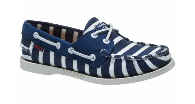 Sebago Sebago Ladies  -  Armolux Spinnaker - Navy/White