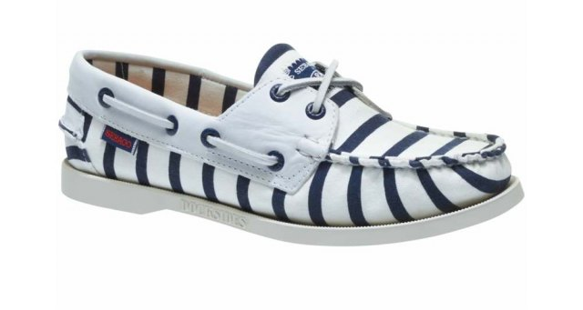 Sebago Sebago Ladies  -  Armolux Spinnaker - White/Navy