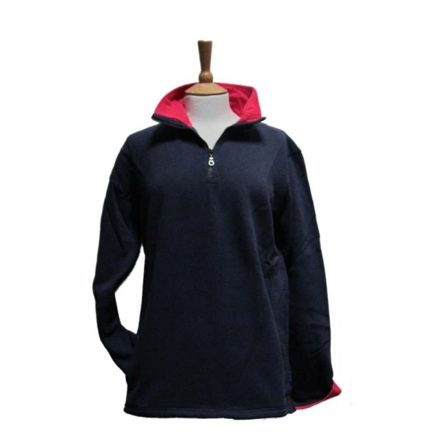 Coastal Blue Clothing Coastal Blue - Seaspray II Sweatshirt - Navy/Cerise