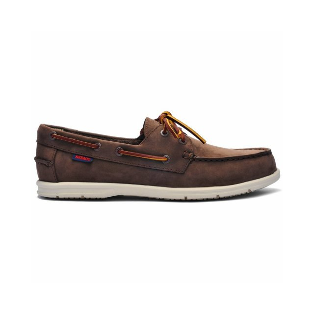 Sebago Sebago Mens - Naples Nubuck - Dark Brown - (7000HK0-901)